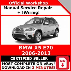 Factory Workshop Service Repair Manual Bmw X5 E70 2006
