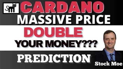MASSIVE CARDANO PRICE PREDICTION WITH ETHEREUM PRICE ...