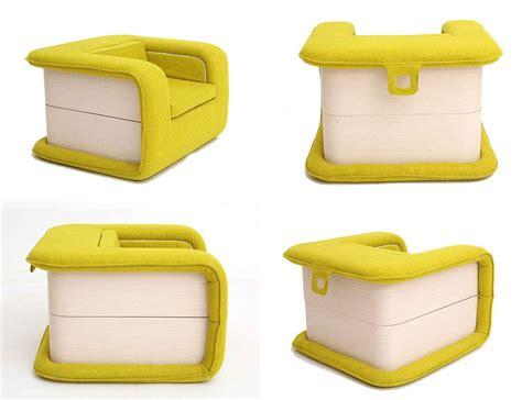 flop armchair   transformer  turns   bed