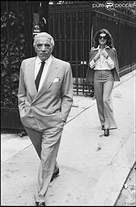 Jacqueline Kennedy Onassis with husband Aristotle Onassis ...