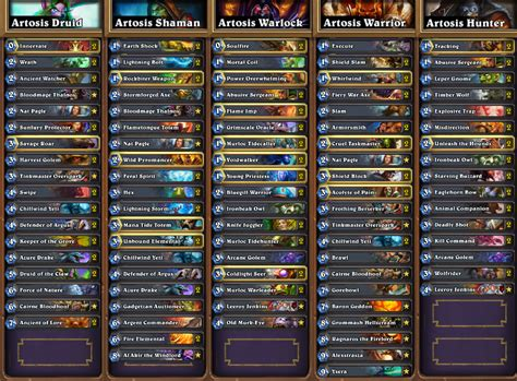 top tier decks hearthstone standard hearthstone news all decklists from seatstory cup