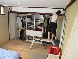 Tringle Pour Dressing : week end 23 un dressing des portes et des gravats la ~ Premium-room.com Idées de Décoration