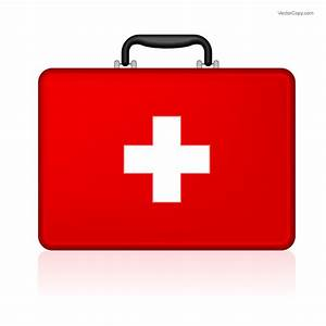 First-aid kit, free vector (eps), by VectorCopy
