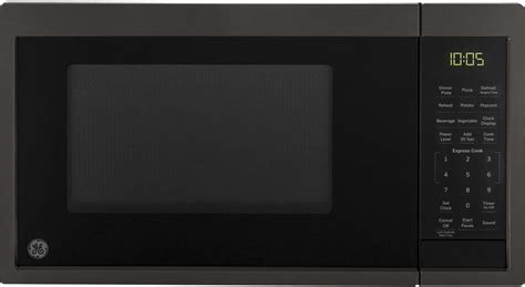 general electric jesbmts   countertop microwave oven black stainless