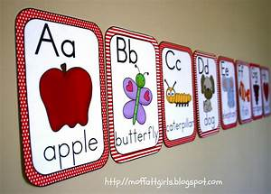 Abc alphabet cards for Abc letters for classroom