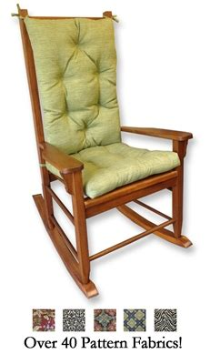 outdoor cushions for wooden rocking chairs indoor and outdoor rocking chair cushions rockersdirect