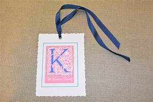 lovely letters gift tags With letter gift tags