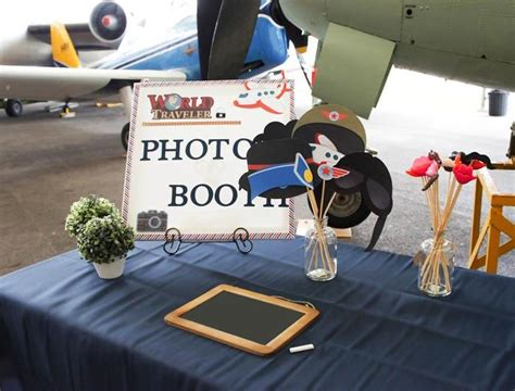 karas party ideas aviation airplane themed birthday party