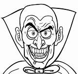 Vampire Coloring Pages Adults Printable Bloodthirsty sketch template