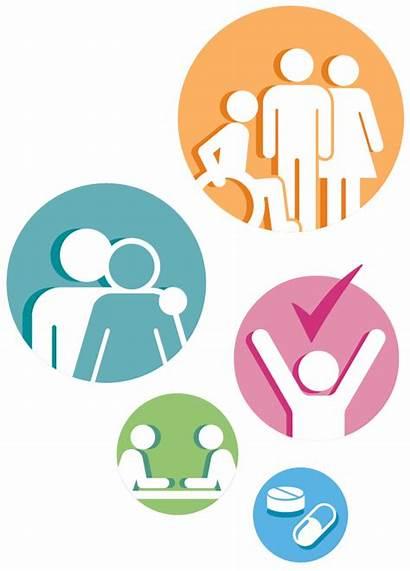 Social Health Care Clipart Partnership Icons Edinburgh