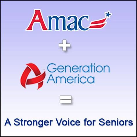 Amac Usa by Two Leading Senior Groups Join Together Amac The