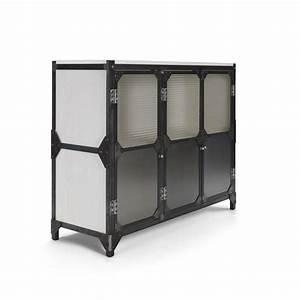 Kommode Industrial Style : brooklyn raw sideboard aus metall und holz im industrial stil notoria ~ Markanthonyermac.com Haus und Dekorationen