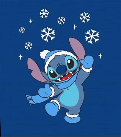 Stitch Disney Lilo Winter Stich Wallpapers Ipad
