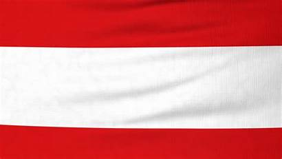Flag Austria Waving Austrian 4k Animation Seamless