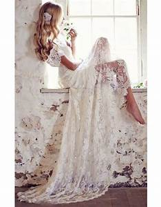 Robe Mariage Dentelle : robe de mari e dentelle transparente 30 robes de mari e ~ Mglfilm.com Idées de Décoration