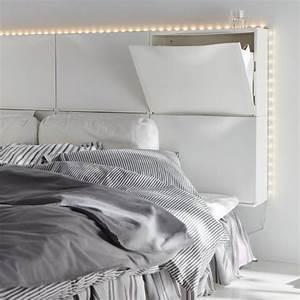 Lit Placard Ikea : gain de place 10 t tes de lit avec rangements chaussure ikea ikea et placard ~ Nature-et-papiers.com Idées de Décoration