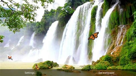 Living Waterfalls Animated Wallpaper - 3d waterfall live wallpaper free wallpaper bits
