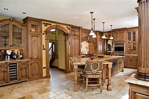 tuscan kitchen design nj - Traditional - Kitchen - newark