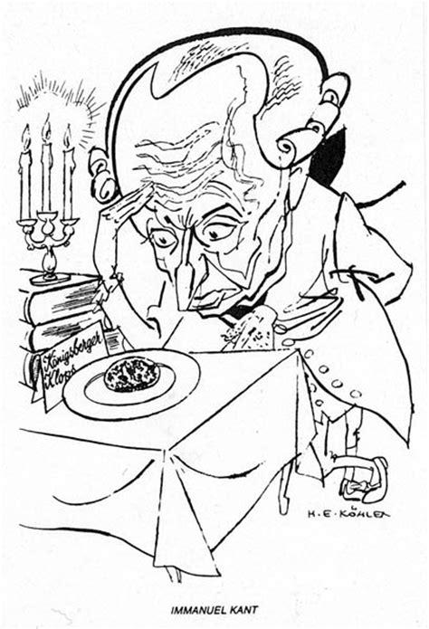 kant ikonographie karikatur
