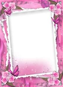 wedding frames transparent pink wedding frame with roses