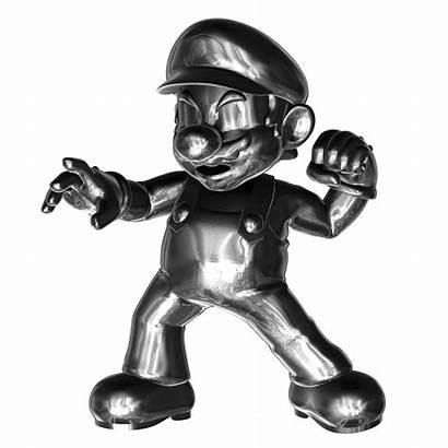 Mario Metal Fantendo Character Wiki Wikia Rock