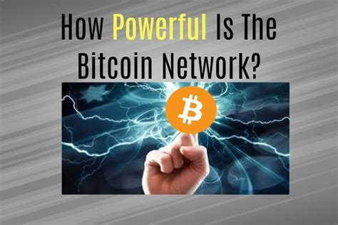 The world is going digital people.they is a lot of money to make online,a new form of money has been. How Powerful Is The Bitcoin Network? | Free Bitcoin Life