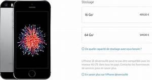 Prix Iphone Se Neuf : consomac baisse de prix pour l 39 iphone se de 64 go ~ Medecine-chirurgie-esthetiques.com Avis de Voitures