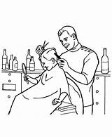 Barber Coloring Pages Job Hair Clipart Colouring Jobs Drawing Cut Crazy Nut Getcolorings Printable Webstockreview Getdrawings sketch template