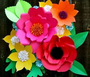 Large Paper Flower Backdrop paperflowerstudio