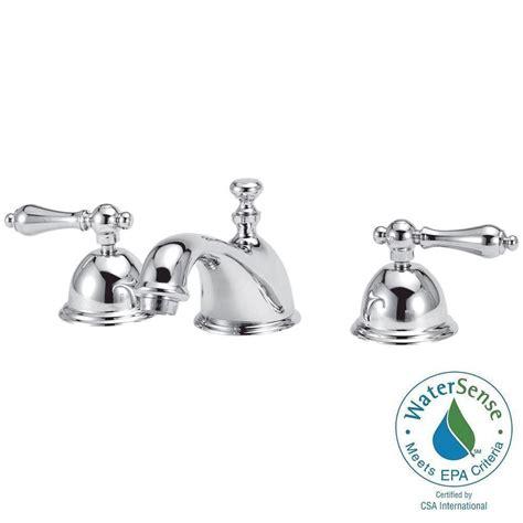 Moen Banbury Bathroom Faucet Chrome by Moen Banbury 8 In Widespread 2 Handle Bathroom Faucet In