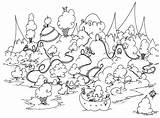 Pages Coloring Island Guinea Pig Grassland Rhode Colouring Ice Printable Cream Bison Penguin Pigs Sheets Seuss Adult Dr Animals Pdf sketch template