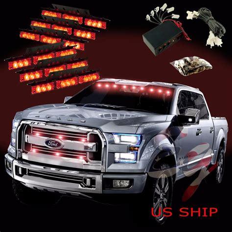 emergency lights for trucks 54 led car truck strobe emergency warning light for deck