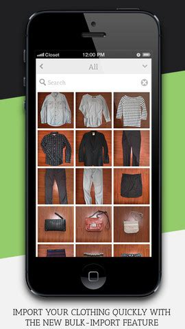 Fashion Closet App by Clothing Organization App Closet Outfitted With New
