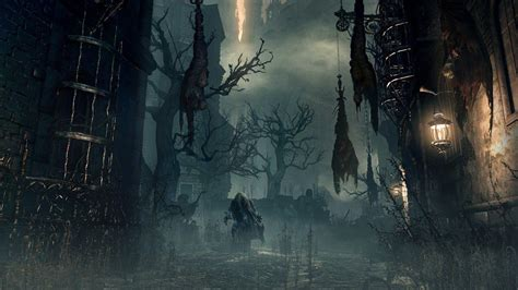 Fondos de pantalla 1920x1080 bloodborne Darkened city ...