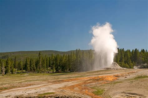 Steamboat Geyser by Panoramio Photo Of Steamboat Geyser