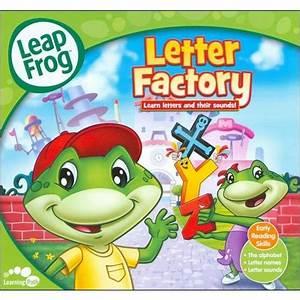leapfrog letter factory handlebox packaging full frame With leapfrog letter factory game