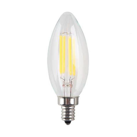 4w led filament candelabra bulb 40w incandescent