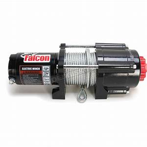 Falcon 4500lb Winch With Wire Rope