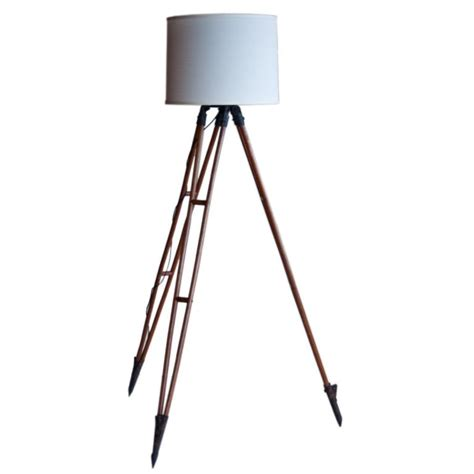 vintage surveyor s tripod repurposed as floor l at 1stdibs
