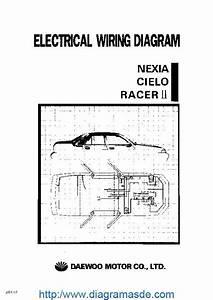 Daewoo Service Electrical Manual Pdf Daewoo Nexia  Cielo Y