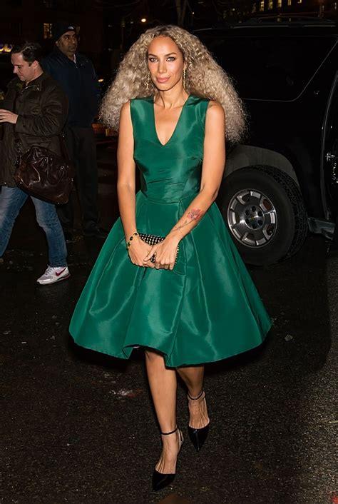 leona lewis zac posen    york fashion week   celebmafia