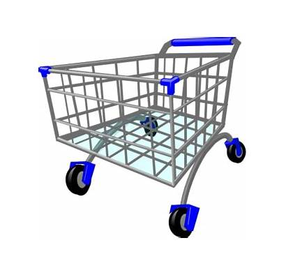 Supermarket Clipart Shopping Cart Clipartpanda Grocery Goods