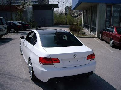 bmw owner covers black  coupe  white tape
