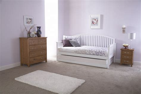 gfw furniture madrid wooden day bed  trundle option