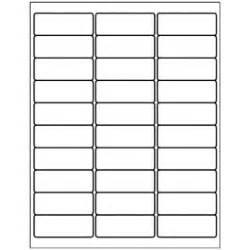 Blank Label Templates 30 Per Sheet Templates Address Label 30 Per Sheet Avery