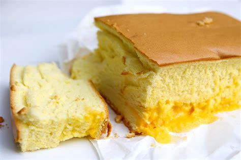 le castella seoul popular fluffy castella cake