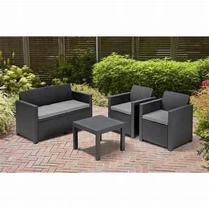 Best Salon De Jardin Allibert Alabama Lounge Set Gallery - Awesome ...