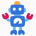 Icon Bot Robot Vectorified Texte Seo Schreiben