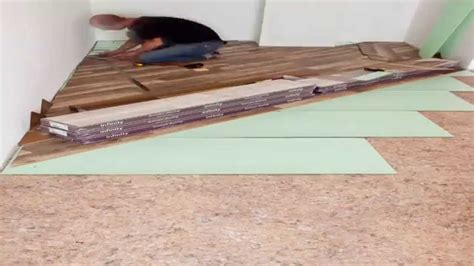 Time Lapse Laying Laminate Diagonal Youtube