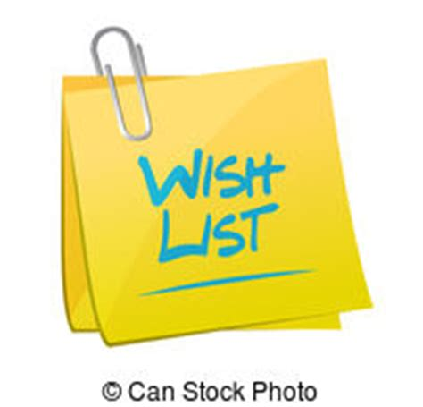 Wish List Illustrations And Clip Art 926 Wish List Royalty Free Illustrations And Drawings